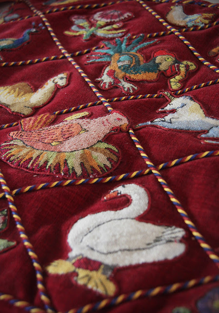 Kentwell Hall - Embroidery