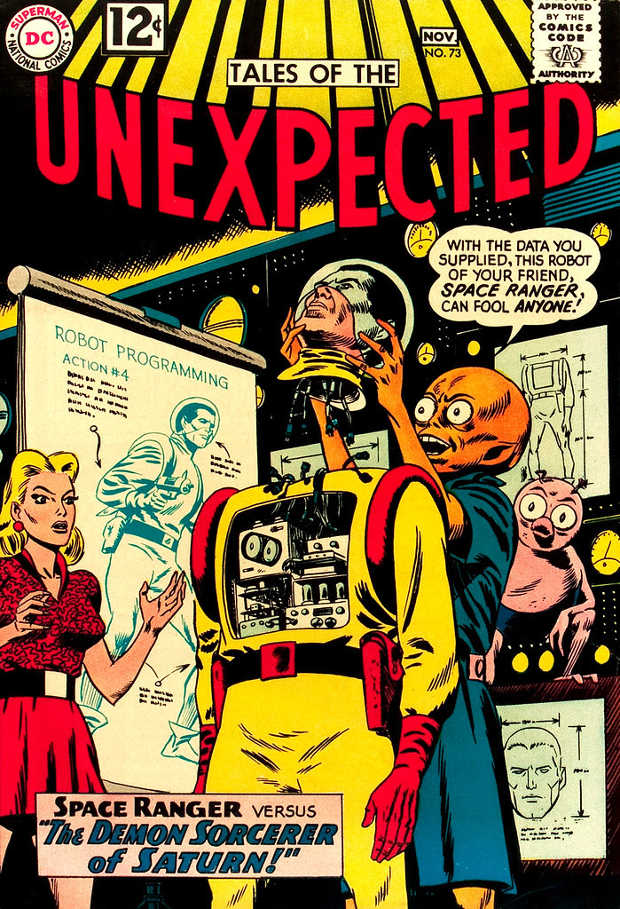 Tales of the Unexpected #73 (DC, 1962) Bob Brown cover