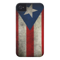 puerto rican flag iPhone 4 case