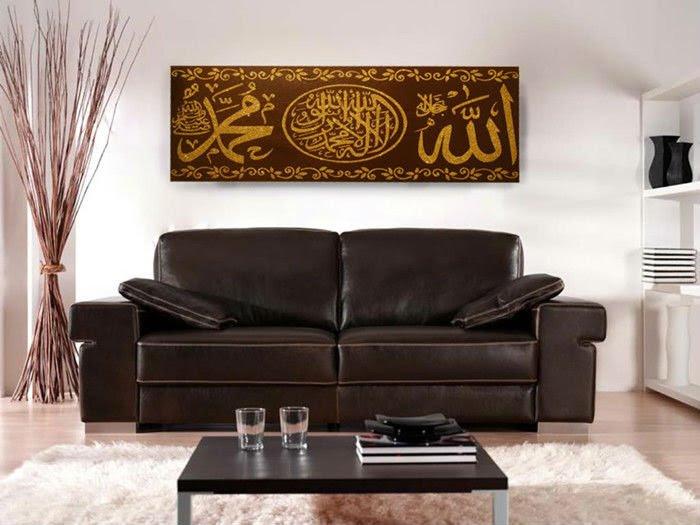 Free Hongkong air mail Modern Islamic Oil painting on Canvas ...