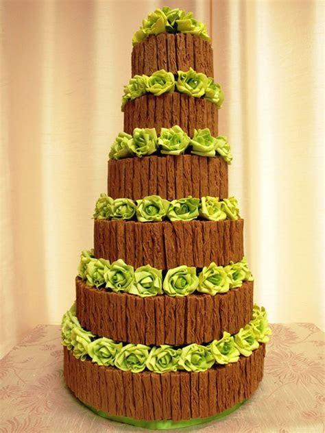 chocolate flake wedding cake   Flickr   Photo Sharing!
