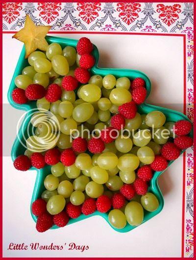 Healthy Christmas Snack, Christmas fruit plate, Preschool Snack