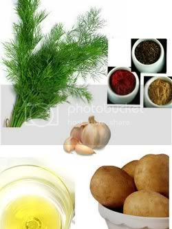 Ingredients for Soya Bhaji