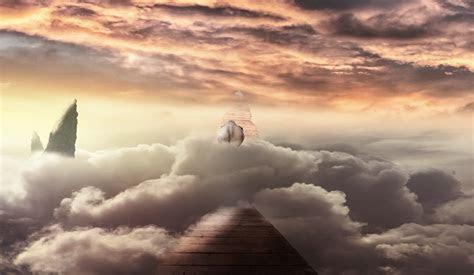 images clouds wooden bridge elephant mountain