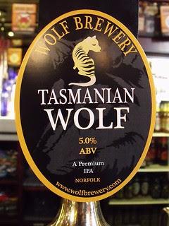 Wolf, Tasmanian Wolf, England