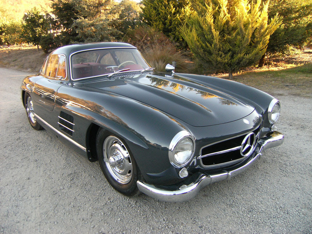 SOLD: 1957 Mercedes-Benz 300 SL Gullwing - Scott Grundfor ...