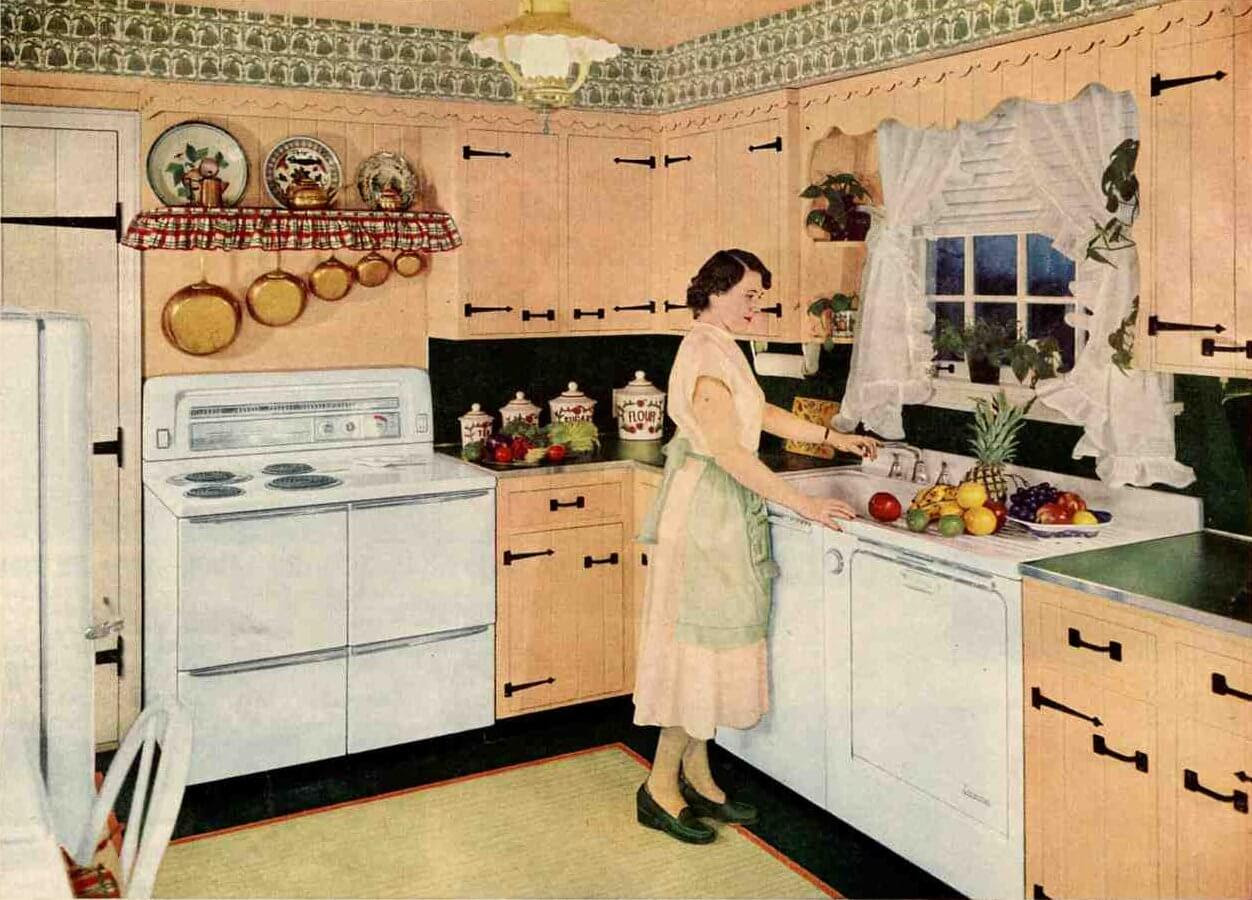 Small Colonial Kitchens