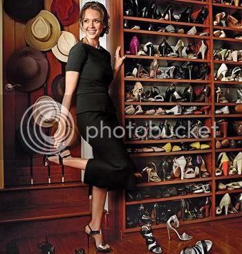 Celebrity Closet Jessica Alba