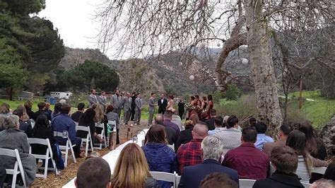 www.charliedjandlighting.com Exchange of Vows. Rustic