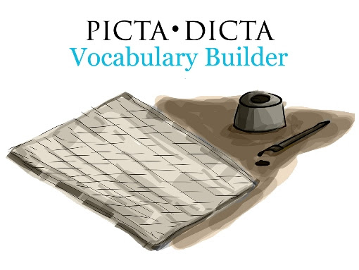 Roman Roads Media Picta Dicta Vocabulary Builder