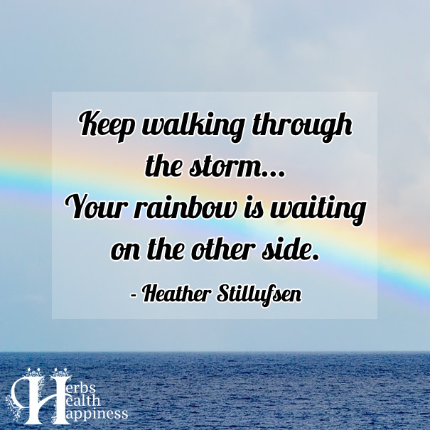 Keep Walking Through The Storm ø Eminently Quotable Quotes