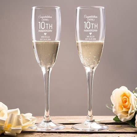 10th (Tin) Wedding Anniversary Gifts & Ideas