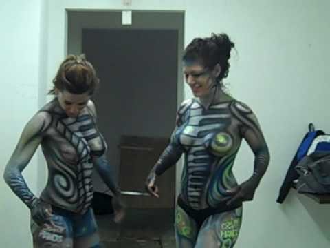 Body Painting DragonCon 2008