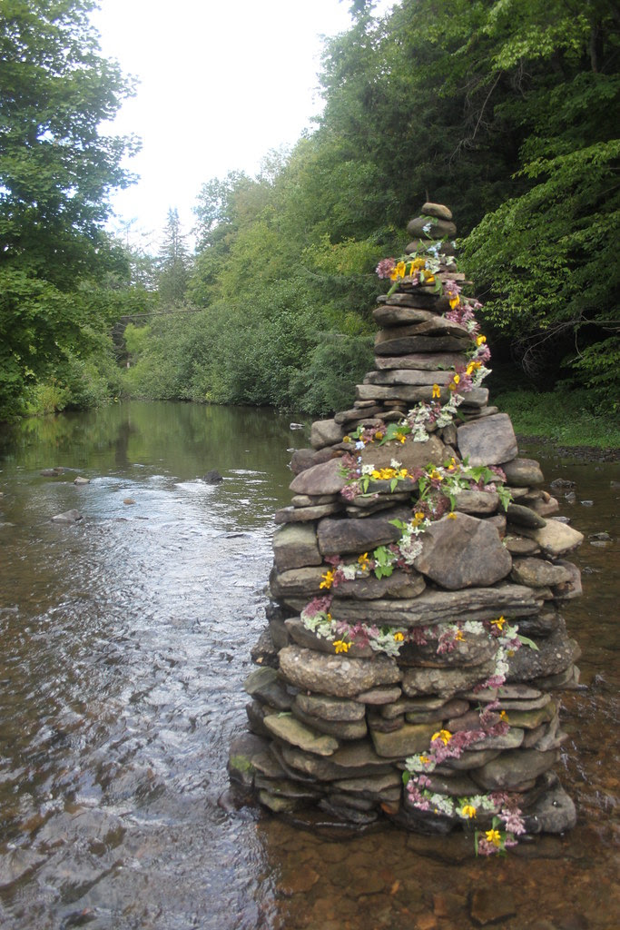 River Rock Sculpture
