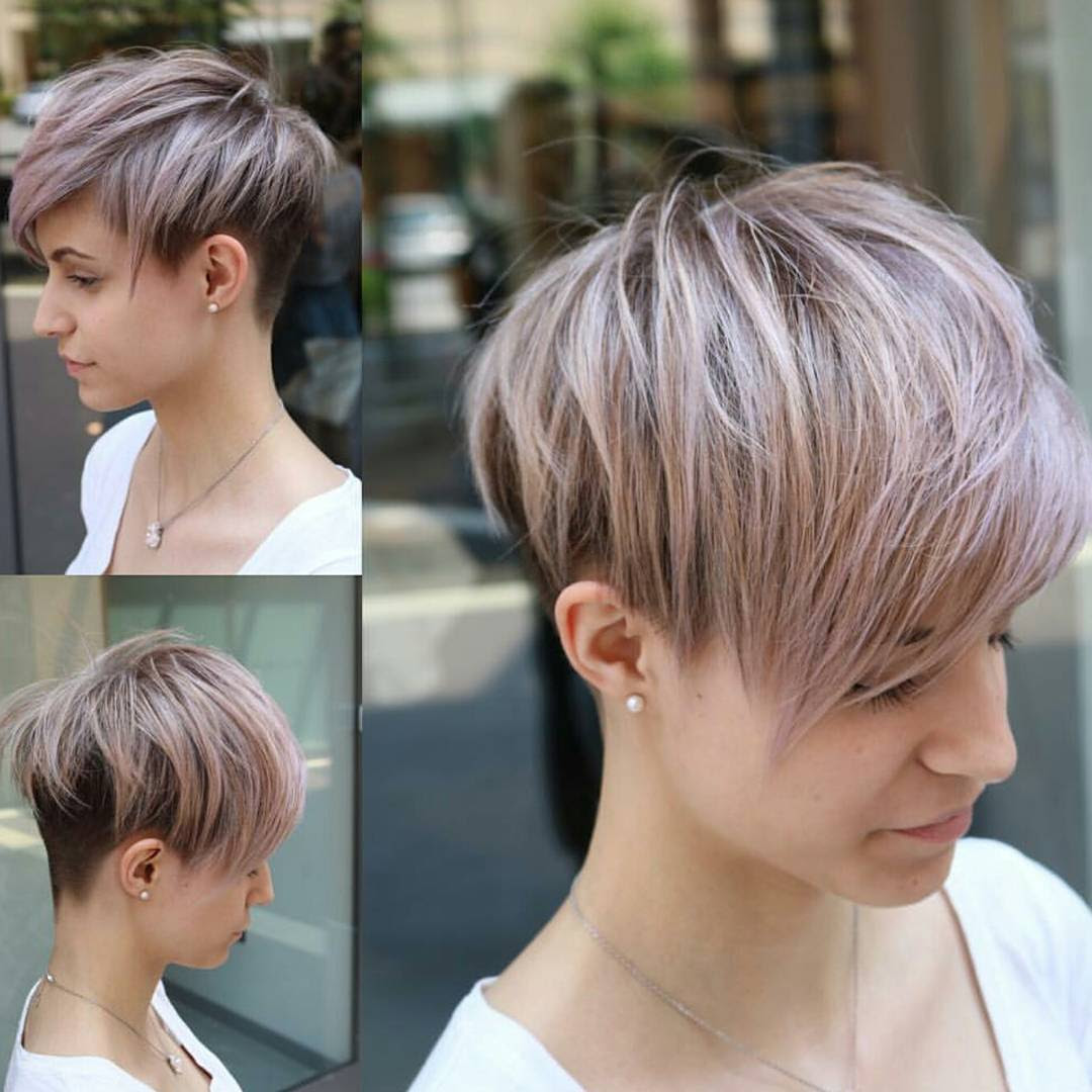10 Easy Pixie Haircut Styles Color Ideas 2018 Women Short Hairstyles