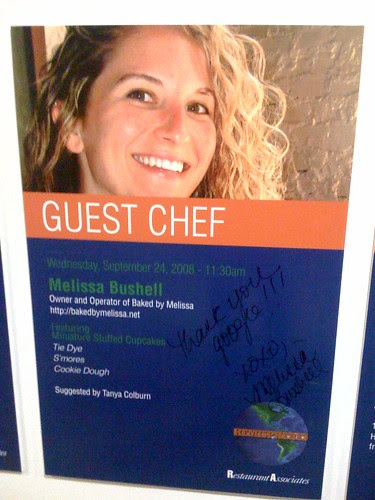 Melissa Bushell as Guest Chef at Google