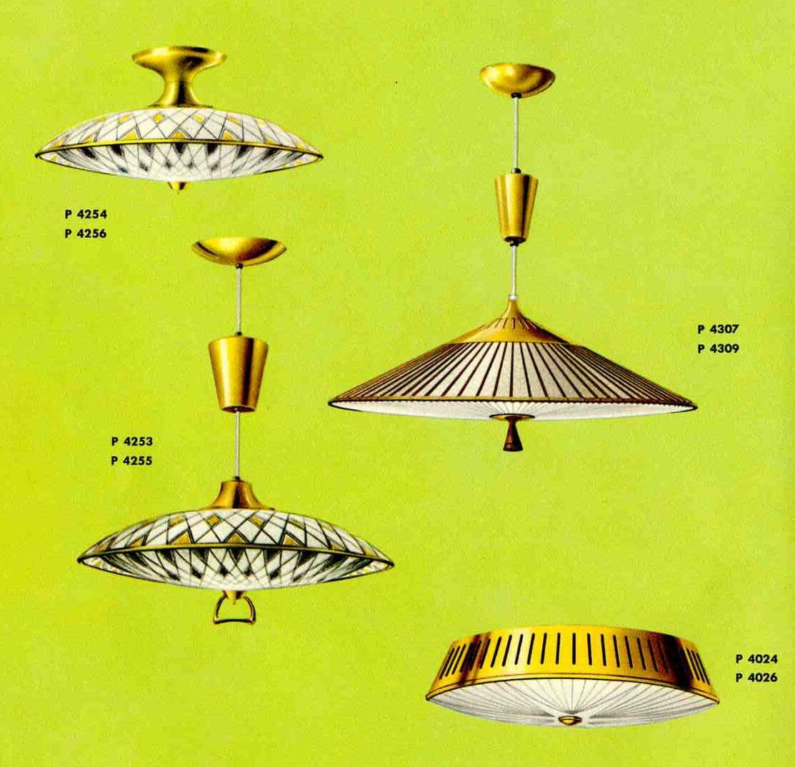 Great retro pull down lights for your kitchen, from Progress vintage 1961  Retro Renovation