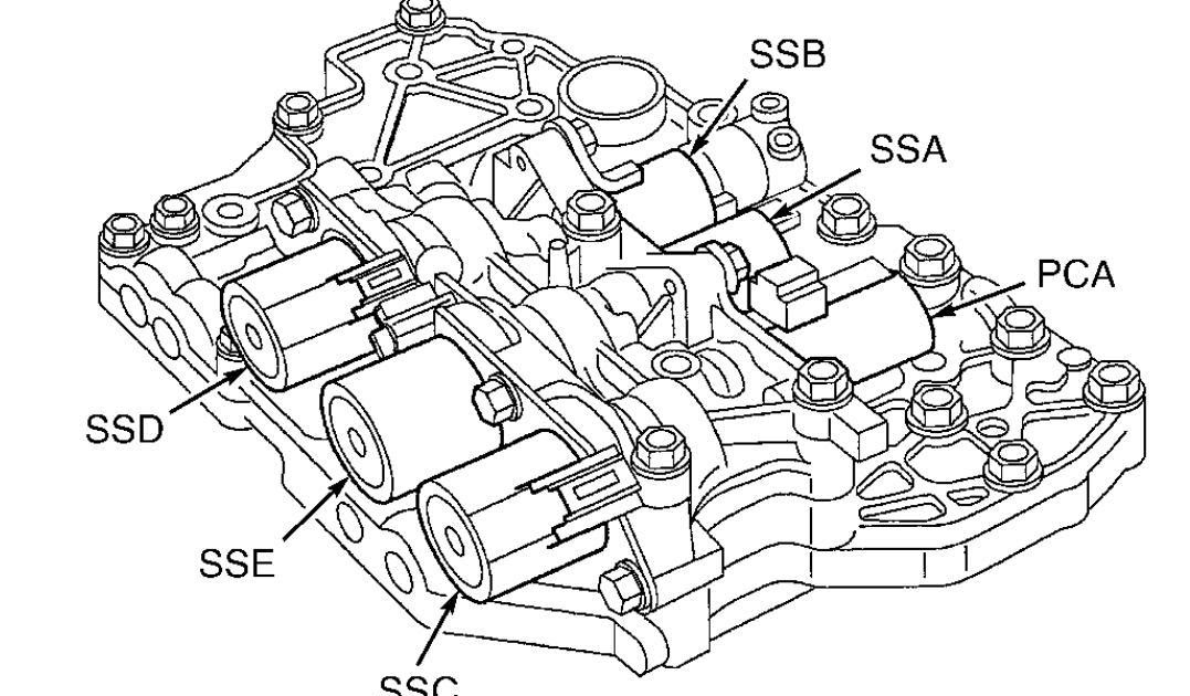 33 Ford Focus Transmission Solenoid Diagram