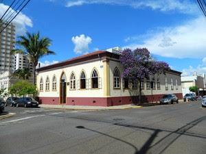 Museu Histórico e Pedagógico Prudente de Moraes fica no centro de Piracicaba (Foto: Divulgação/Museu Prudente de Moraes)