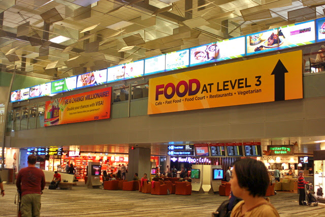 Changi Airport has over 100 F&B outlets