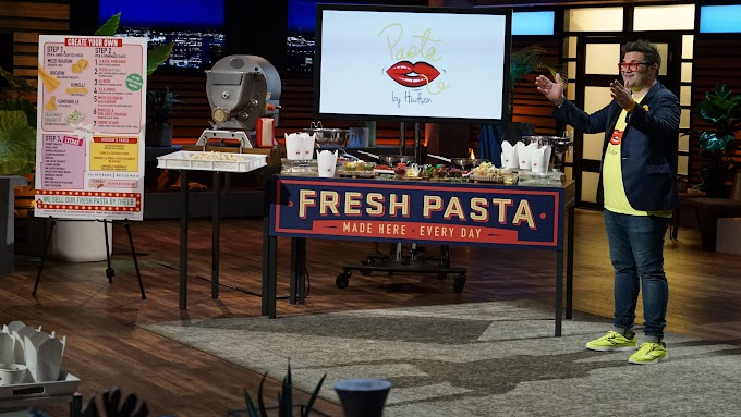 'Shark Tank' recap: Takeout pasta innovator sees the dough with Mark Cuban and Lori Greiner