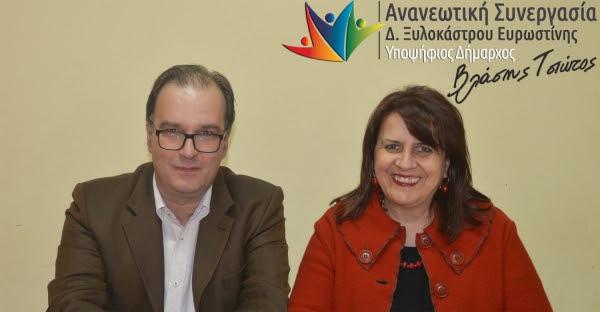 Ανακοίνωση Υποψηφιότητας Ελίνας Μενούνου
