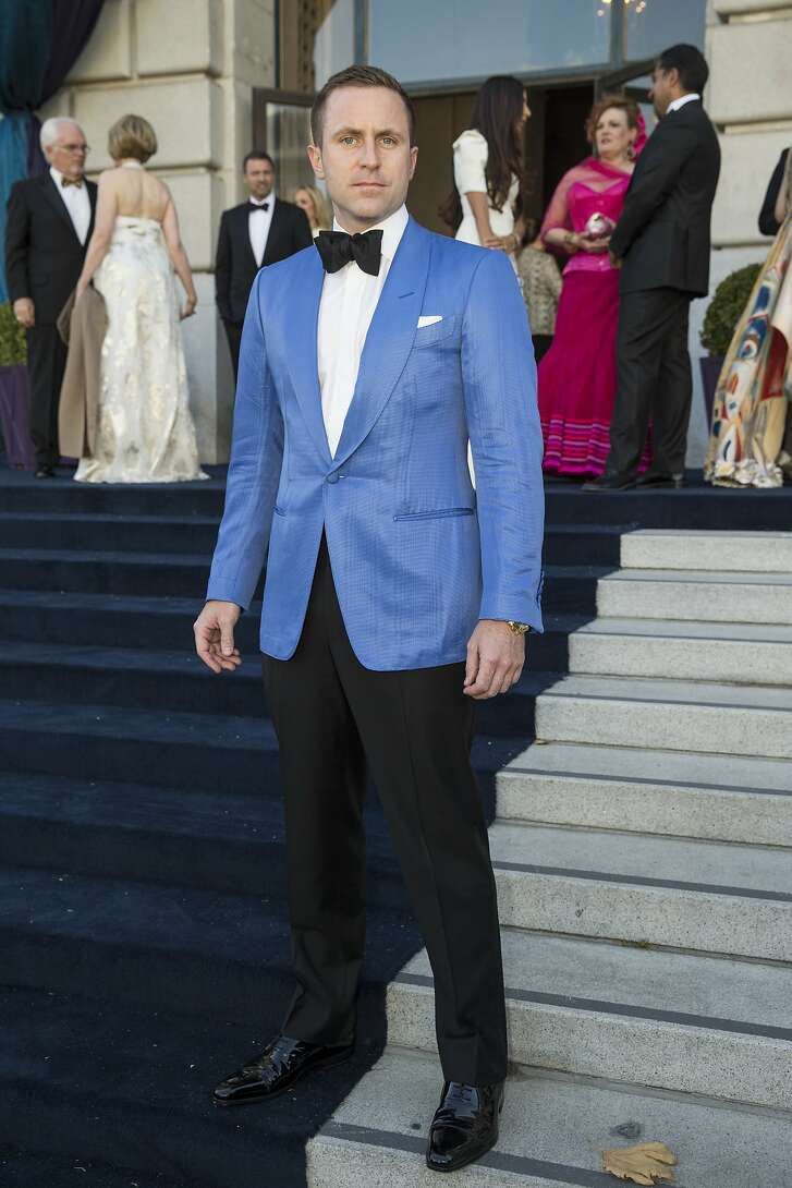 Andrew Hinek wears a Tom Ford jacket while attending the San Francisco Opera Ball 2015: Moonlight & Music, in San Francisco, Calif., on Friday, September 11, 2015. The benefit ball celebrated San Francisco OperaÕs 93rd season.