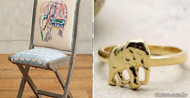 Adoráveis produtos para quem ama elefantes