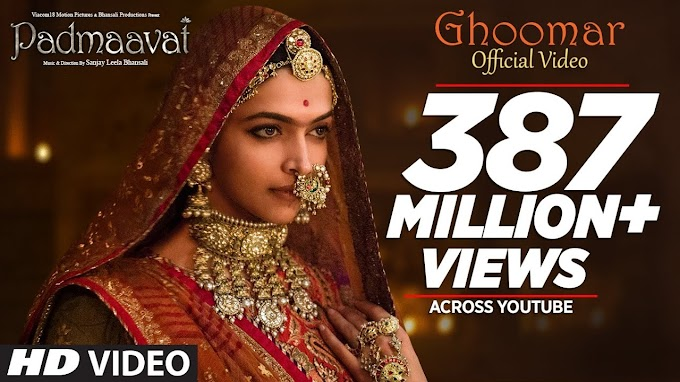 घूमर GHOOMAR Hindi Lyrics – Padmaavat movie song