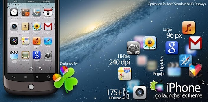 iphone launcher theme iphone hd go launcher ex theme v2 3 apk free 11981