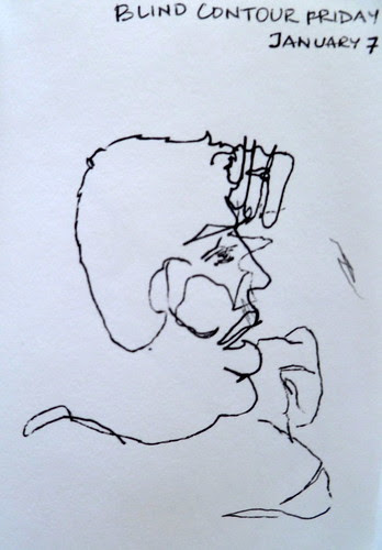 Blind Contour Friday - 3
