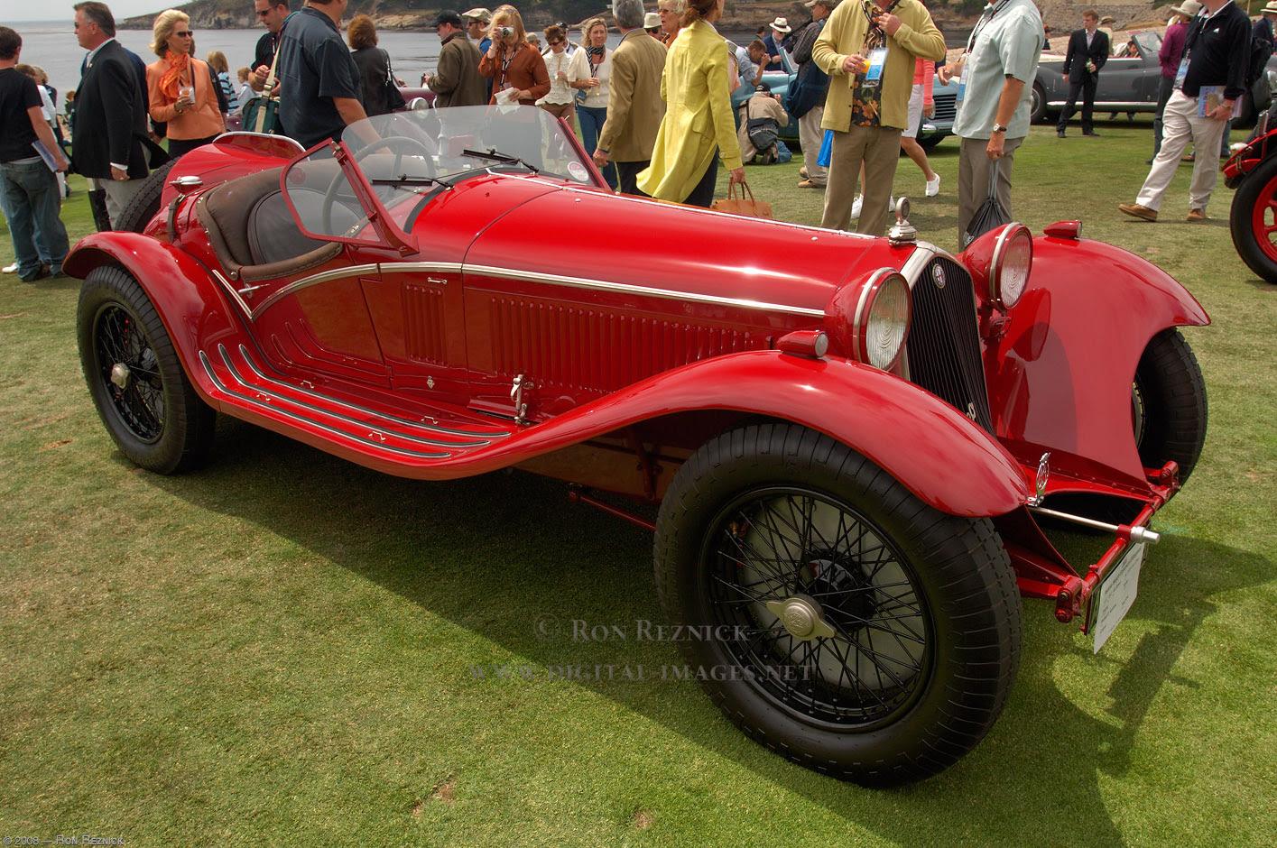 Top Classic Cars: Alfa Romeo 8C Top Classic Cars