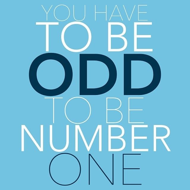 You Have To Be Odd To Be Number One Pictures Photos And Images For