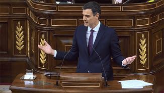 Pedro Sánchez al Congrés