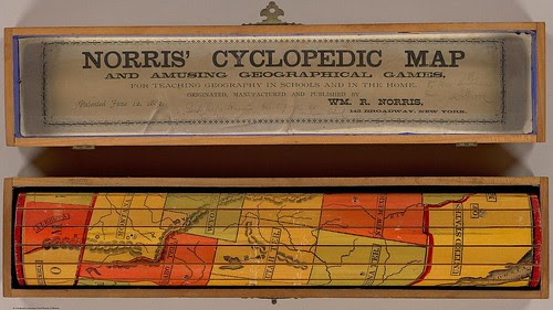 Norris' Cyclopedic Map and Amusing Geographical Games