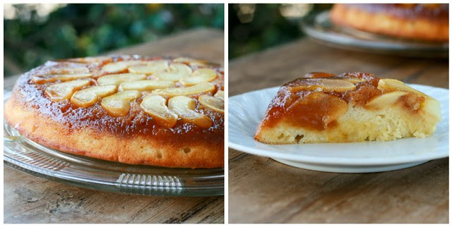Apple Cake Tatin collage 2