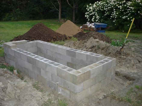 Daily Survival How To Build A Concrete Block Raised Bed