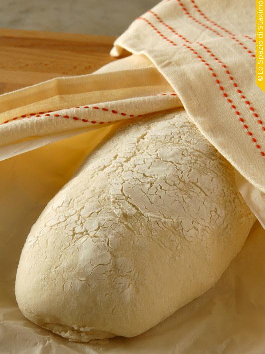 Pane Semplice di Rinfresco: lievitato