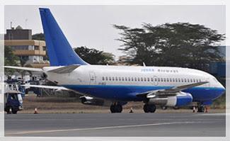 Jubba Airways Kenya 737-200Adv