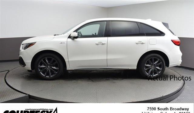 2019 Acura Mdx White