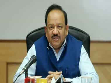 File image of Union health minister Dr Harsh Vardhan. PTI