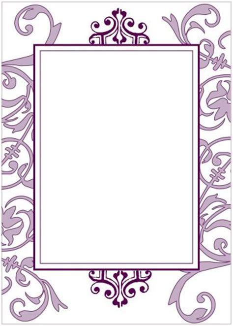 Purple Flourish Party Invitation   Wiregrass Weddings