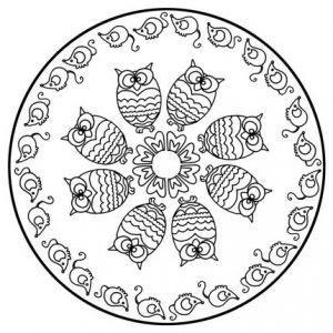 6 Mandalas De Animales Para Dibujar Todo Mandalas