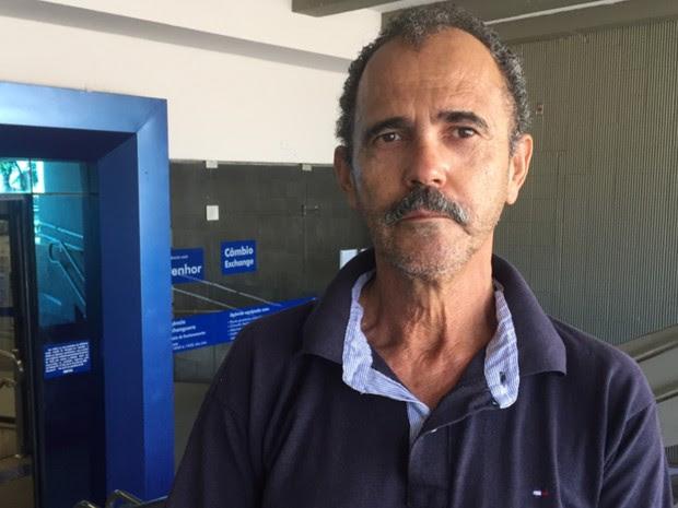Miguel Martins diz que vai receber mais de R$ 800 de FGTS, em Goiás (Foto: Murillo Velasco/G1)