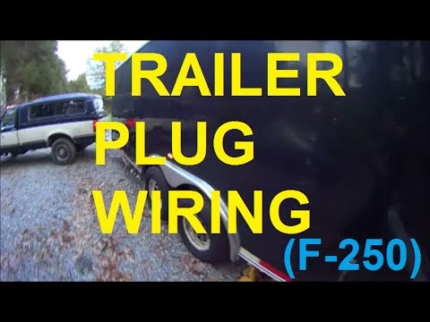 wiring diagram for flat 4 pin trailer plug image 4