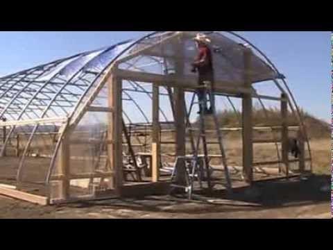 Bear E Gardens Building The High Tunnel Greenhouse