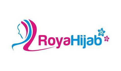 sribu logo design desain logo  roya hijab