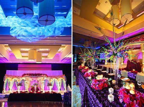 Indian Hindu Wedding Reception at Hilton Polaris in