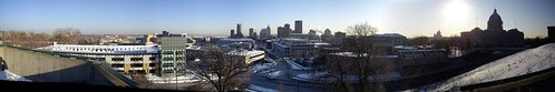 panorama of downtown st paul - smaller