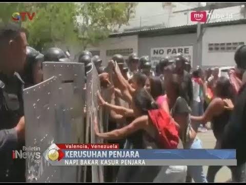 Menyedihkan, Kerusuhan Penjara di Kantor Polisi Venezuela Tewaskan 68 Orang